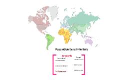 Copy of Economic Activities in the Mezzogiorno region