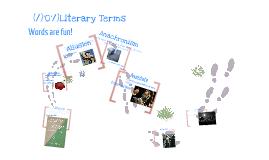 (/)'0'/) Literary Terms