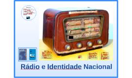 Rádio e Identidade Nacional