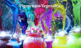 Pigmentos Vegetales