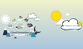 Weather Stereotypes Because of Cloud Formation