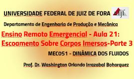 MEC051 - DINÂMICA DOS FLUIDOS - AULA 22