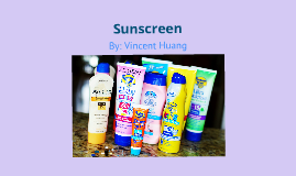 Sunscreen - Tech Research Project