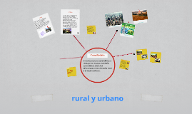 rural y urbano