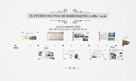 EL PUERTO FLUVIAL DE BARRANQUILLA 1880 -1936