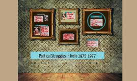 Political Struggles in India