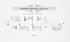 American Literature 1900-1945