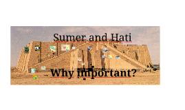 Hist 110: Sumer & Hittites