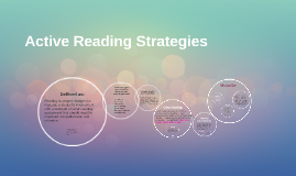 Copy of Active Reading Strategies