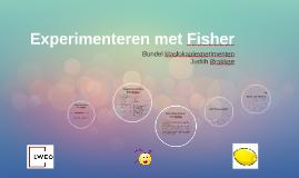 Experimenteren met Fisher