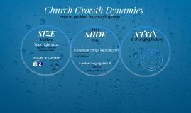 Copy of Church Growth Dynamics
