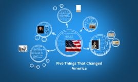 Five Things That Changed America