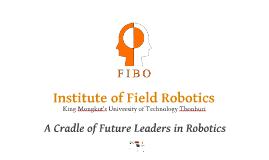FIBO B.Eng. Program in Robotics Engineering