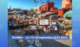 Marokko - 18 t/m 24 september 5H/A