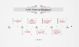 GNU/Linux vs Windows