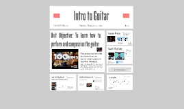 Intro to Guitar Riffs