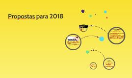 Propostas para 2018