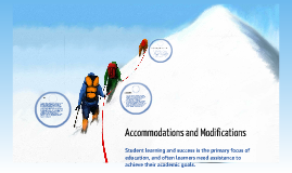 Copy of Accommodations and Modifications