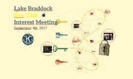 LBSS Key Club Interest Meeting 2016