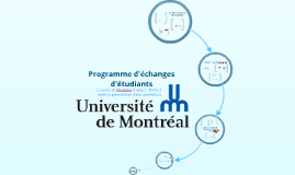 Programme d'échanges d'étudiants à l'Université de Montréal