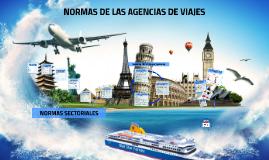 Copy of Normas Técnicas Sectoriales de las Agencias de Viajes