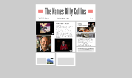 The Names Billy Collins