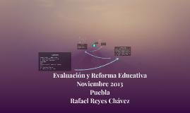 Evaluación y Reforma Educativa