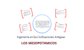 Copy of INGENIERIA EN LAS CIVILIZACIONES ANTIGUAS