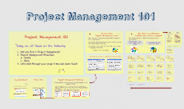 Copy of Project Management 101
