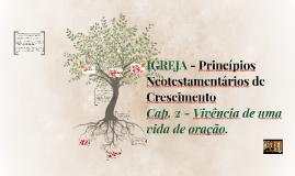 Aula 2 - IGREJA - Princípios Neotestamentários de Crescimento