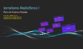 Jornalismo Radiofônico I