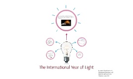 Copy of The International Year of Light