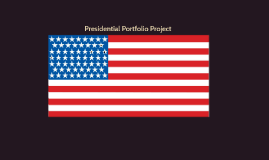 Presidential Portfolio Project