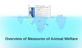 Overview of Measures of Animal Welfare