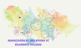 Copy of organización de una oficina de relaciones públicas