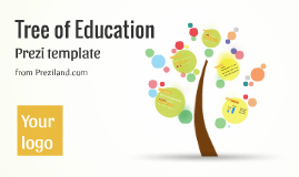 Tree of education - Prezi template