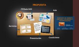 Copy of PROPUESTA DE ASESORIA CONTABLE, FINANCIERA Y ADMINISTRATIVA