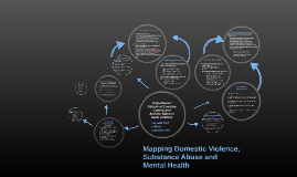 Mapping Domestic Violence, Substance Abuse and Mental Health