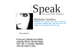 speak by laurie halse anderson by kayla mcallister on prezi speak by laurie halse anderson