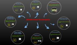 Copy of Copy of SEPARATION TECHNIQUES