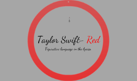 Copy of Taylor Swift-Red-Figurative Language