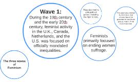 The three waves