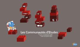 """Workshop """"Les Communautés d'Etudes"""" - 2014"""