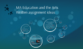 MA Education and the Arts