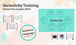 OTL Inclusivity Training 2015