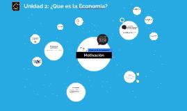 Qué es la Economía?