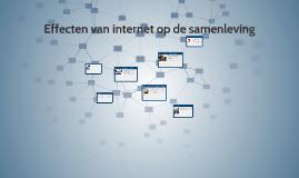 De effecten van internet op de samenleving
