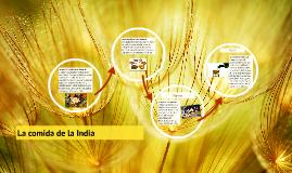 La comida de la India