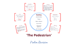 'The Pedestrian' Revision