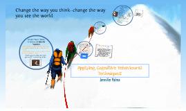Cognitive Behavioural Techniques
